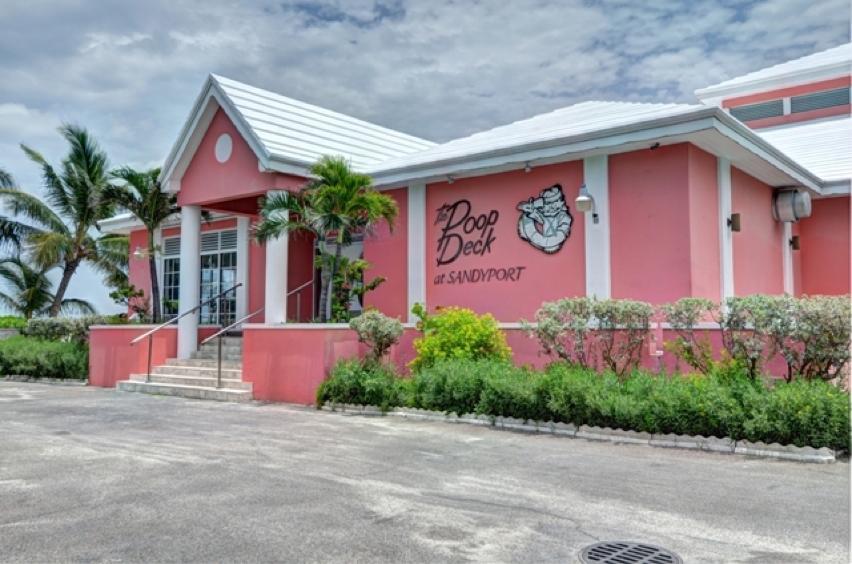 The Poop Deck at Sandyport in Nassau, Bahamas